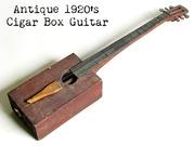 1920's Homemade Cigar Box