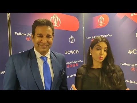 Zainab Abbas Live WIth Wasim Akram  Talk About Pakistan Bowling Against Afghanistan Today | #CWC2019