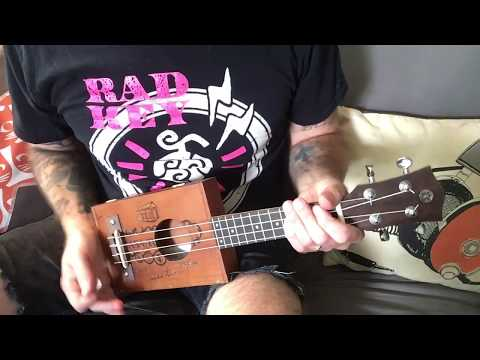 Cigar Box Ukulele #2 - build & demo