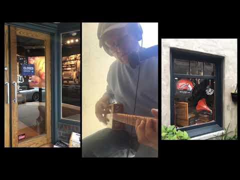Carmel. Cigar Box Guitar