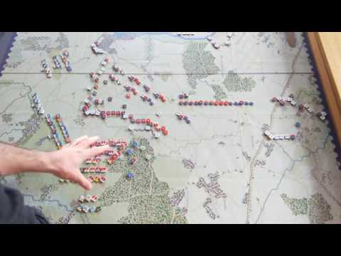 The Battle of Fontenoy [Report - Setup and battle plans]