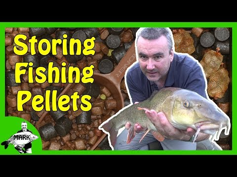 Storing Pellets for Fishing
