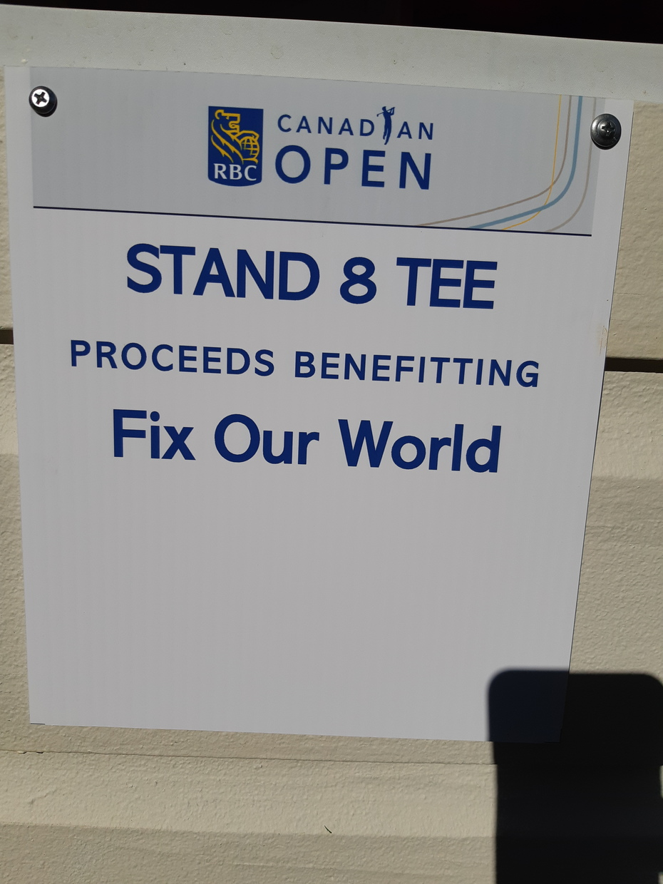 Fix Our World Canadian Open