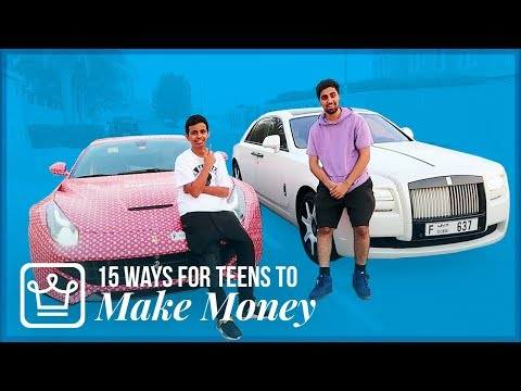 15 Ways Teenagers Can Make Money