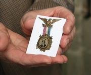2013 History Festival of Ireland -Gilmore Ferrotype medal from Louisiana