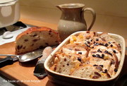 Brack And Butter Pudding.