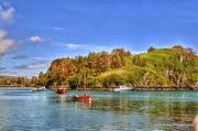 Lough Hyne meets the sea 2