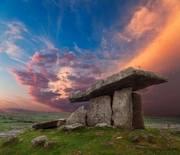 Poulnabrone Portal Dolmen, The Burren, Co. Clare