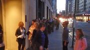Lining Up To Hear Filmmaker Jim Sheridan in NYC
