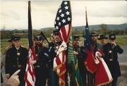 Honor Guard Assembled To Commemorate Fenian Rising