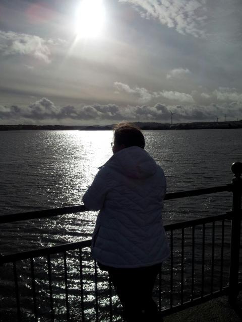 Cobh - Beautiful Sparkling Gray Sky
