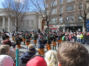 Easter 2016 parade Irish Army Pipe Band