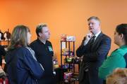 Discussion with Shane Stephens, Irish Consulate General, about how to spread Irish Culture in Southeast United States