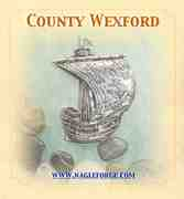 County Wexford inspired Pewter Ship Brooch by Nagle Forge & Foundry