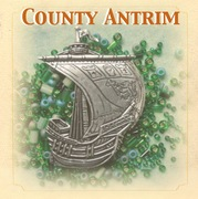 County Antrim inspired Pewter Ship