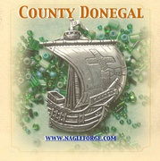 County Donegal inspired Pewter Ship Brooch by Nagle Forge & Foundry