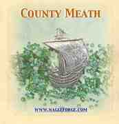 County Meath inspired Pewter Ship Brooch by Nagle Forge & Foundry