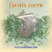 County Louth inspired Pewter Ship Brooch by Nagle Forge & Foundry