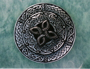 Celtic Shield Cross --A Nagle Forge original....