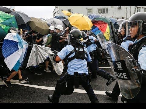 Hong Kong protesters break into the legislative council building