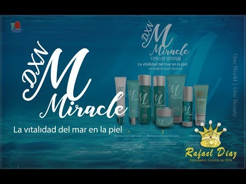 Linea Miracle DXN (BENEFICIOS/INGREDIENTES) PASO A PASO