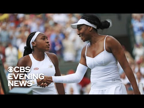 "Cori ""Coco"" Gauff beats Venus Williams in Wimbeldon upset"