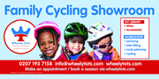 Wheely Tots Family Cycling Showroom and Kit Library