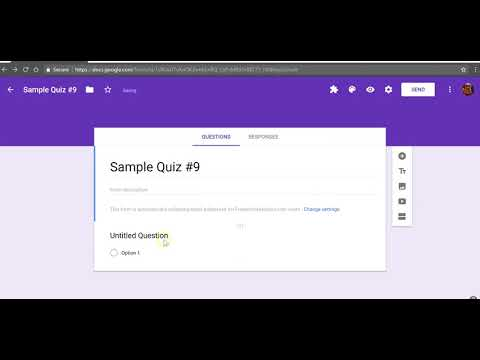 The Basics of Creating a Quiz in Google Forms