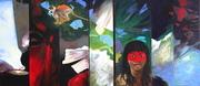 Diptyque -Amazonie 80 x 180 cm