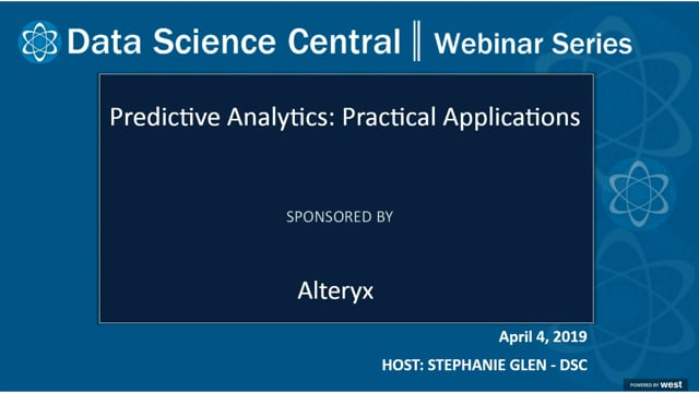 DSC Webinar Series: Predictive Analytics: Practical Applications