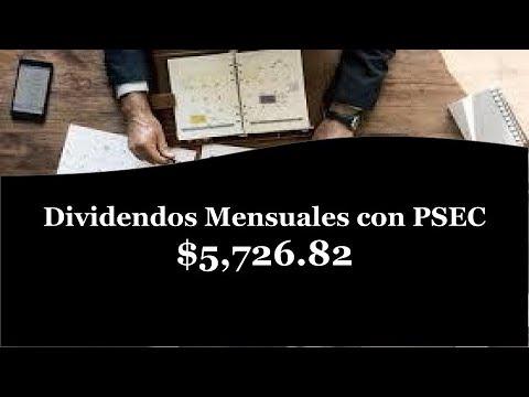 Dividendos Mensuales con Prospect Capital PSEC