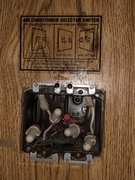 AC selector switch. 1988