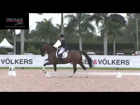 Katherine Bateson-Chandler And Alcazar Grand Prix Warm Up