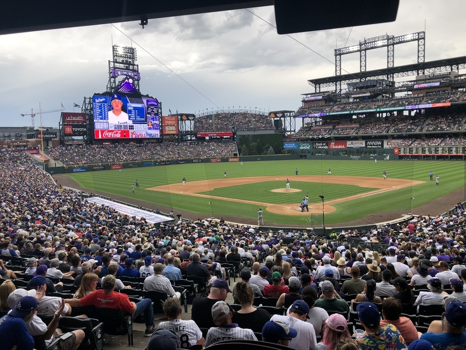 Dodgers at Rockies 6/30/2019