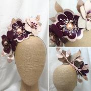 B.Original Headpiece by Melissa-Gaye Designs