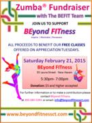 Zumba® Fitness Fundraiser