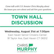 Town Hall Meeting with Senator Chris Murphy
