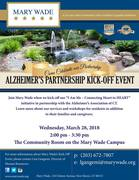 Mary Wade's Alzheimer's Partnership Kick-Off Event