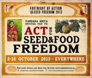 A Fortnight of Action for Seed Freedom