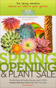 Spring Opening and Plant Sale