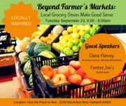 Locally Inspired: Beyond Farmer's Markets- Local Grocery Stores