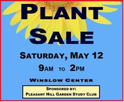 May 12 Plant Sale
