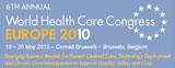 World Health Care Congress in Brussels, Belgium