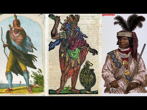 Pt. 1 - Never before seen Historic Depictions & Images of American Indians !!