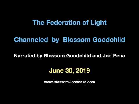 Topsy-Turvy land will be in full swing - Blossom Goodchild & the Federation of Light - June 30, 2019