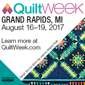 AQS QuiltWeek® – Grand Rapids, Michigan 2017