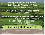 Celtic Quilt Tours