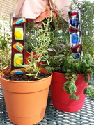 Fused Glass Garden Stakes w/Lori