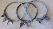 Charming Bangle Bracelets w/Christi