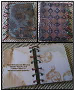 Copper Etched Journal